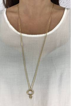 W4330 Necklace Gold