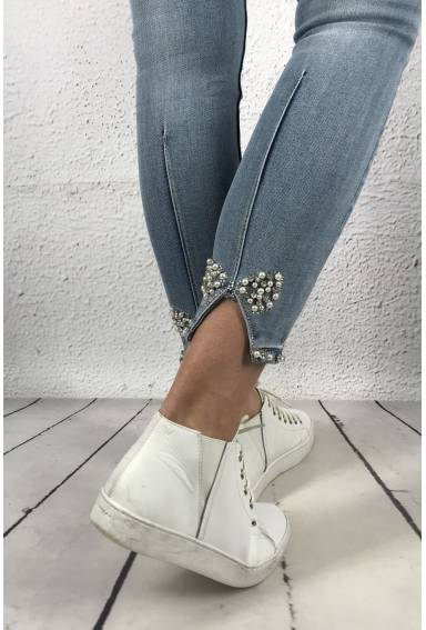 RD 6509 Jeans Strass Bow