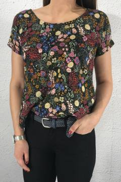 Top multi flowerprint