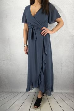 WD Dress Dusty Blue