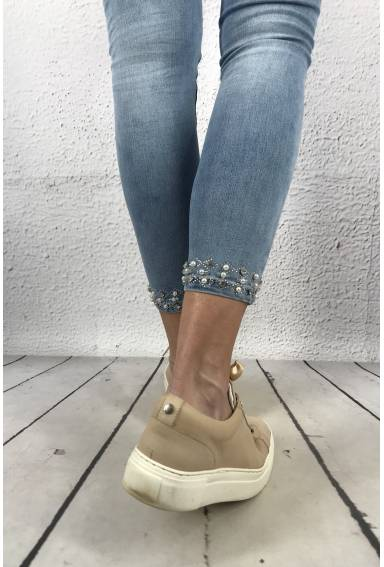 RD 6506 Jeans Strass Band