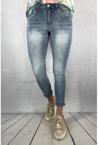 A92972 Jeans high Light Denim