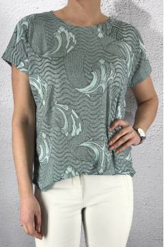 43115 Top print waves Mint
