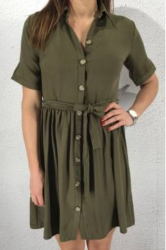 Nutti Dress Khaki