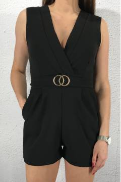 Gram playsuit Black/Gold