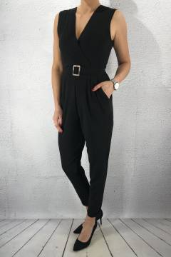 Greb Jumpsuit Black/Snake