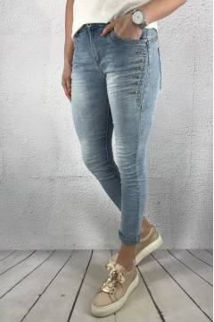 JW6286 Jeans bling Denim