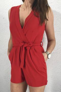 Gram playsuit Red