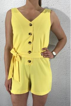 Erub Playsuit Yellow