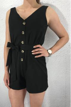 Erub Playsuit Black