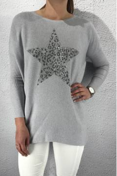 Sweater Leostar Grey