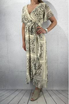 Gush Dress Creme/Scarf