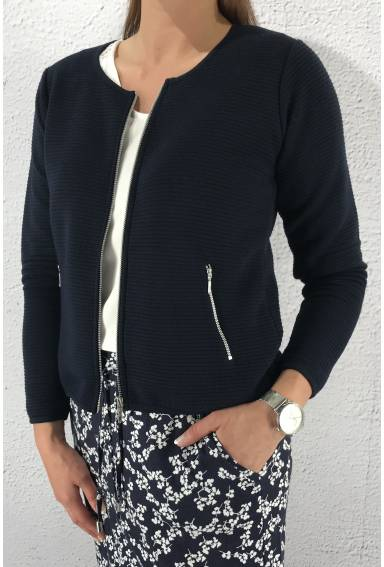 Jacket structured Navy