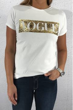 T-shirt Vogue White