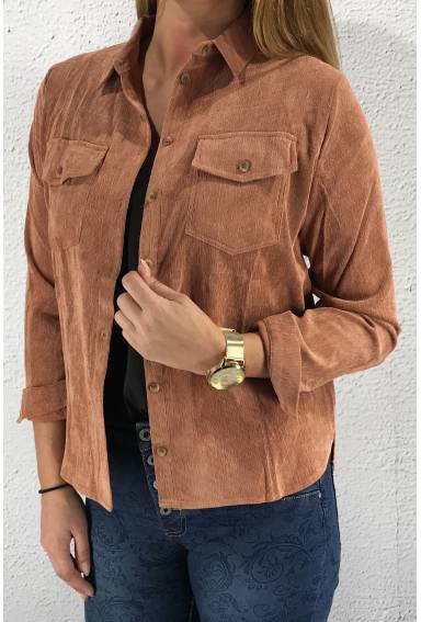 Vester Shirt  Rust