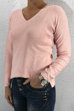Sweater Coralie LTD QR cosy rose