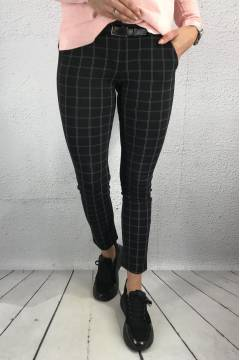 915 Pant Checkered Black/Grey