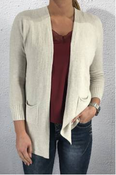 1766 Cardigan Star Beige