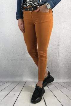 C2600 Jeans slim Burn Yellow