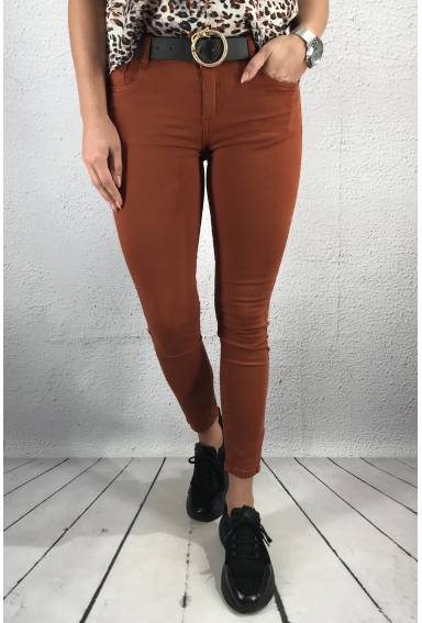 C2600 Jeans slim Burn Rust