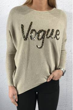 MM07 Knit Vogue Beige/Gold
