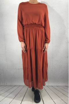 Nicoline Dress Rust