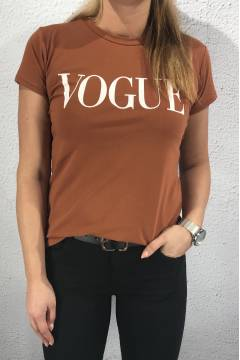 8550 T-shirt Vogue Rust