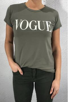 8550 T-shirt Vogue Khaki