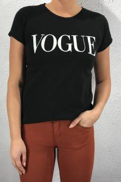 8550 T-shirt Vogue Black