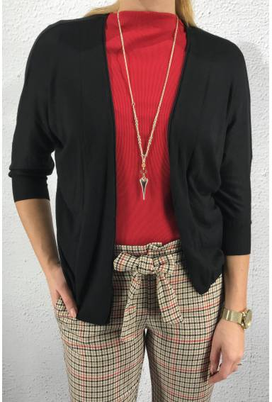 Cardigan open Black