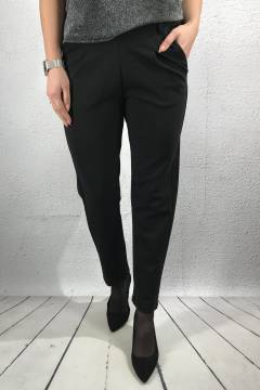 Pants Heavy jersey Black