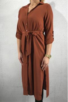 Eron Tunic/Dress long Rust