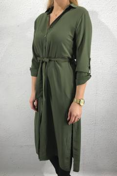 Eron Tunic/Dress long Khaki