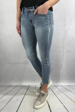 RD6661 Jeans rivets Denim