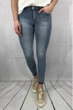C 2811 Jeans slim plain Lt.Blue