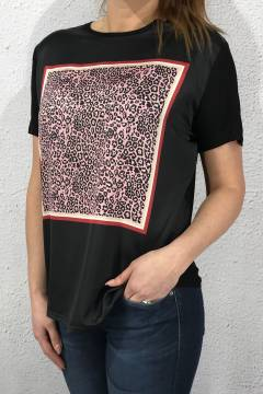 8300 T-shirt Leosquard Black