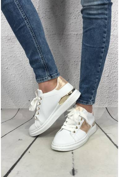Sneakers White/Rose