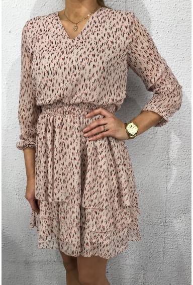 Nicoline Dress Rose/Leo
