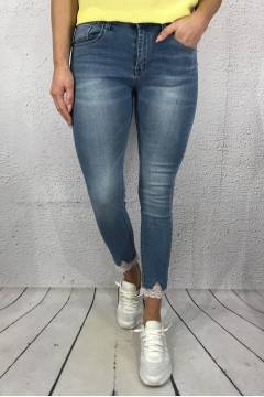 JW 9126-B Jeans lace Lt.Denim