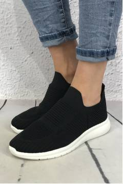 Sneakers plain Black