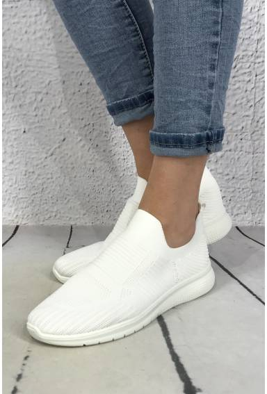 Sneakers plain White