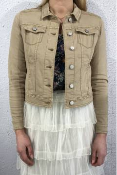 Roxanan QR colourrjacket Crem Sand