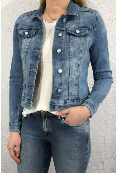 Roxanan QR Denimjacket Blue Randow