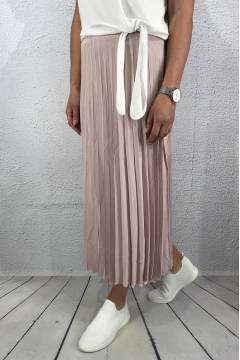 Marta Skirt pletated Antique Rose
