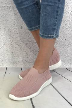 Sneakers plain Dusty Rose