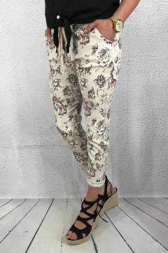 2245 Joggingpant Sand flower