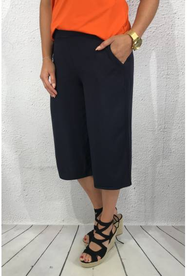Ldt QR Culotte wide Deep Blue