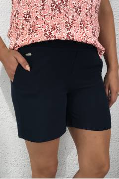 Paperbag Shorts Deep Blue