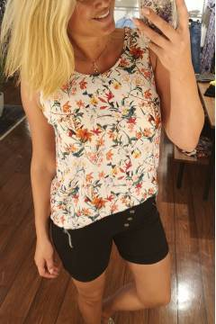 Linea Tank Top Flowerprint