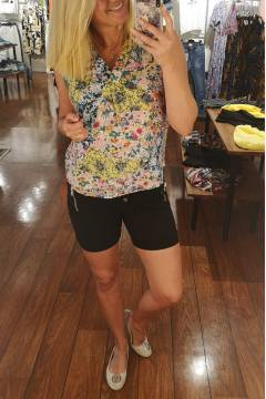 Anna Tank Top Flowerprint mix color